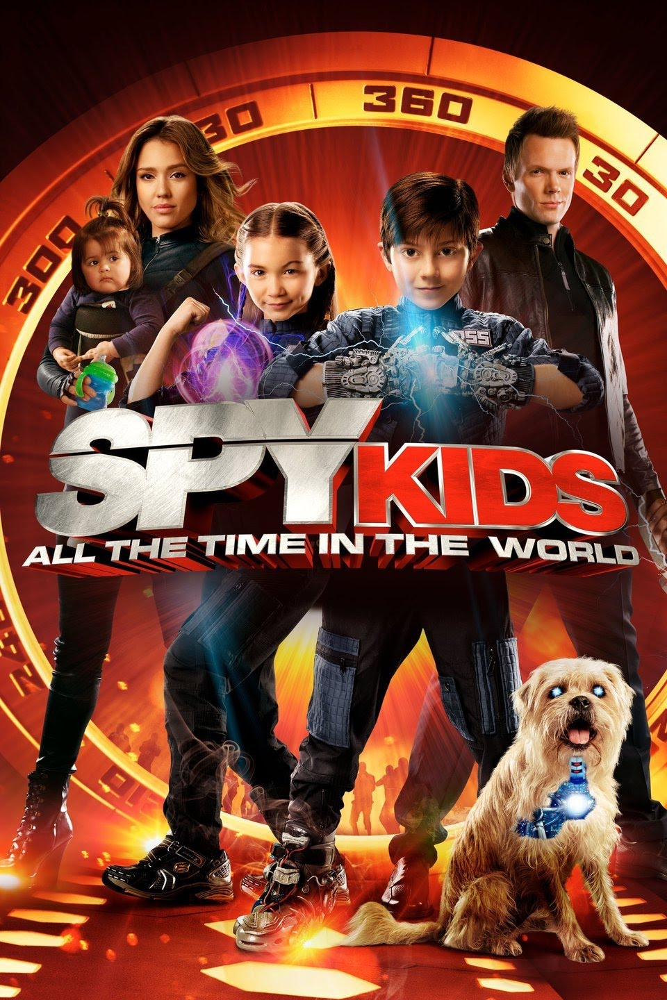 Spy Kids 4: All the Time in the World (2011) Multi Audio {Hindi-English-Tamil-Telugu} 720p