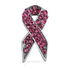 Shop <b>Pink Ribbon</b> Breast Cancer Survivor Pink <b>Pin Rhinestones</b> ...