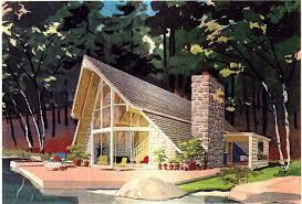 A Frame House Plan chp  at COOLhouseplans com