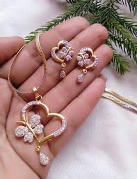 <b>New</b> Collection <b>2019</b>   Bridal jewelry sets, Gold earrings designs ...