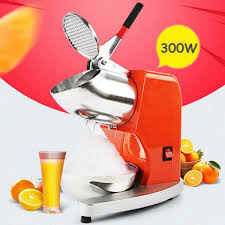 Household <b>Commercial Electric Ice Crusher</b> Ice Shaver Machine ...