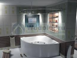<b>Акриловая ванна Bas Ривьера</b> 161х161 без гидромассажа, цена ...