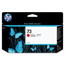 <b>HP 73</b> 130-ml <b>Chromatic</b> Red Ink Cartridge (CD951A)