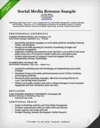 salesperson  amp  marketing cover letters   resume geniusresume example social media