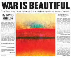 war is beautiful the new york times pictorial guide to the war is beautiful the new york times pictorial guide to the glamour of armed conflict signed copy powerhouse books
