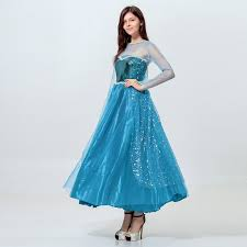 High Quality Movie <b>Elsa Princess</b> Cosplay Clothing Cinderella ...