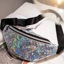 2019 Fashion Women <b>Waist Bag PU Fanny</b> Pack Belt Bag For Lady ...