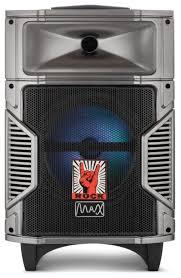 Купить <b>Портативная акустика Max Q</b>-90 черный/серебристый по ...