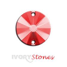Diamond Collection Light <b>Siam</b> Round <b>Sewing Crystals</b> – ivorystones