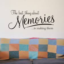 Small Picture Memories wall art sticker WA076X