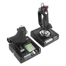 <b>Джойстик Logitech G</b> Saitek X52 Pro Flight Control System USB ...