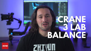 Balance <b>Zhiyun Crane 3 LAB</b> - YouTube