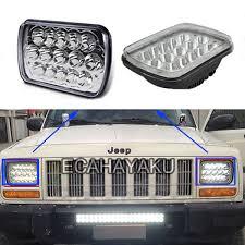 <b>ECAHAYAKU 1 PCS 45W</b> LED work light 7x6 inch Crystal Square