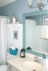 bathroom refresh: seaside theme bathroom refresh lowescreator pretty handy girl