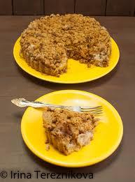<b>Яблочный</b> пирог крамбл с грецким орехом — Bagel&Beagle