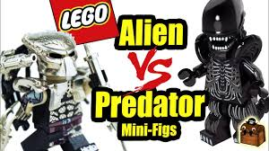 <b>Alien</b> vs <b>Predator LEGO</b> Custom Minifigures Brick <b>Predator</b> - YouTube