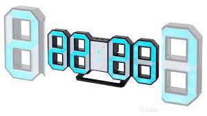 <b>Часы</b>-будильник LED <b>Perfeo Luminous</b> (черн/синий) купить в ...