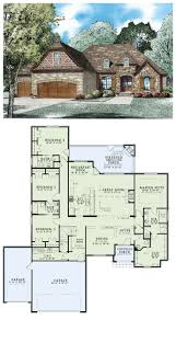 ideas about Bedroom House Plans on Pinterest   Bedroom    French Country House Plan   Total living area  sq ft  bedrooms
