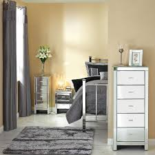 f small bedroom with mirrored venetian furniture chest of drawers and nightstand 1389x1389 bedrooms mirrored furniture