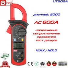 UT202A, 600A AC, токоизмерительные <b>клещи UNI</b>-<b>T</b>, с функцией ...