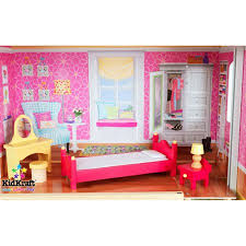 kidkraft majestic mansion wooden dollhouse with 33 pieces of furniture walmartcom dreamz bathroom dollhouse