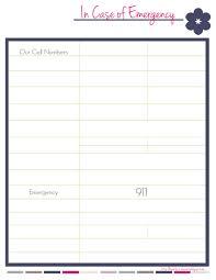 emergency phone number list template emergency phone number list template 69