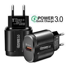Quick Charge 3.0 Fast Travel Wall <b>Charger</b> USB Adapter for iPhone ...