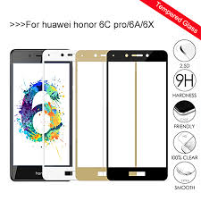 <b>Protective Glass For</b> Huawei Honor 6c Pro 6a 6x 6 C X A C6 X6 A6 ...