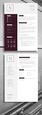 resume template cv template cover letter application advice professional cv resume strong layout suitable for accountant account
