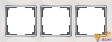 <b>Рамка Werkel</b> Snabb на 3 поста белая WL03-Frame-03-white ...