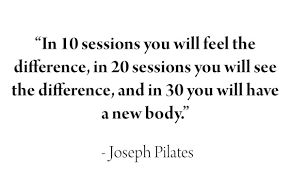 Image result for joe pilates quotes