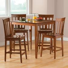 cherry counter height piece: hillsdale outback piece counter height dining set distressed chestnut