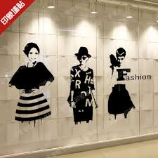 Small Picture Popular Wall Sticker Clothing Shop Buy Cheap Wall Sticker Clothing
