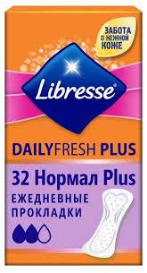 <b>Libresse прокладки</b> ежедневные DailyFresh Plus Normal — купить ...