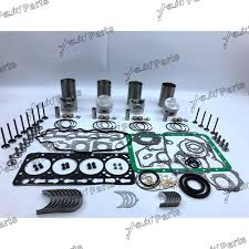 Новый <b>набор для ремонта</b> V3300 IDI, piston + piston ring + <b>liner</b> + ...