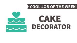 cool job of the week cake decorator cool job of the week cake decorator