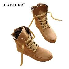 DADIJIER 2018 Elastic Band leather <b>Boots</b> Winter Arrival <b>Ankle</b> ...