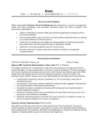 sample resume summary statements for customer service experience sample resume summary statements for customer service