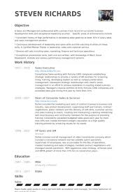 Sales Executive Resume Samples - VisualCV Resume Samples Database Sales Executive Resume Samples