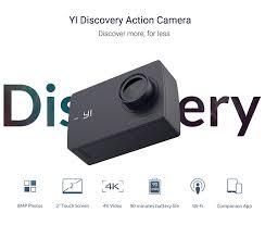 <b>Экшн камера YI Discovery</b> 4K 20 кадров в секунду, Спортивная ...