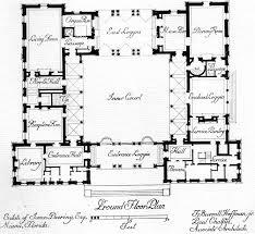9847 best floor plans images on pinterest house floor plans Contemporary Rectangular House Plans central courtyard house plans find house plans contemporary rectangular house design home