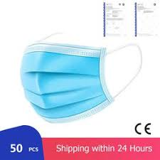 <b>50pcs Medical Mask</b> Face <b>Masks</b> 24h Express delivery <b>Disposable</b> ...