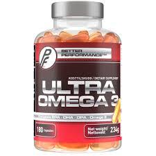 <b>Ultra Omega 3</b> - <b>180</b> Capsules - Proteinfabrikken.com