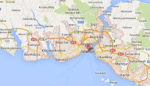 Image result for kadıköy beşiktaş haritası