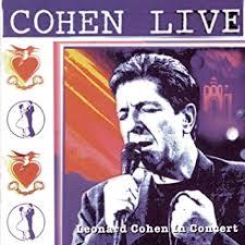 Cohen Live <b>Leonard Cohen Live</b> In Concert - Amazon.com Music