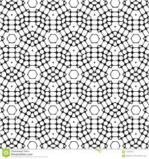 <b>Black</b> Hexagonal Stylish Unique Elegance <b>Modern</b> Pattern ...