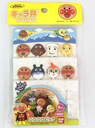 ANPANMAN 8pcs Bento Kawaii Food Fruit Picks Lunch Box ...