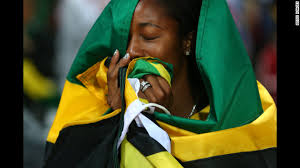Shelly-Ann Fraser-Pryce of Jamaica celebrates winning the gold in the women's 100-meter final on Saturday, August 4. Check out Day 7 of competition from ... - 120804104012-day-8-01-cm-horizontal-gallery