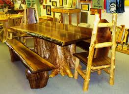 Log Dining Room Tables Best Rustic Square Dining Table Designs Ideas Luxury Homes