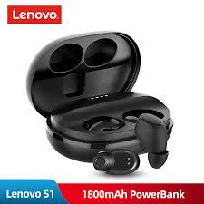 2018 New Original Lenovo S1 <b>TWS Wireless</b> Bluetooth <b>Earphone</b> ...